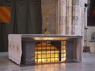 Les reliques de saint Thomas d'Aquin